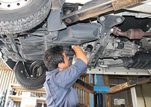 福祉車輌修理